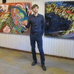 Mihkel Ilusa näituse avamine Tallinna tn 11